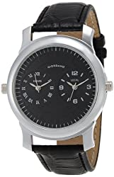 Giordano Analog Black Dial Mens Watch - 60062 (P10501)