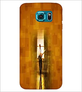 PrintDhaba Music D-4425 Back Case Cover for SAMSUNG GALAXY S6 (Multi-Coloured)