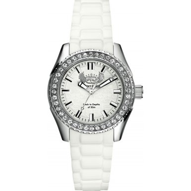 Marc Ecko The Grande White Ladies Watch - E11599M2