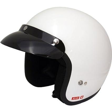 Blanc de visage ouvert Viper rs04 casque de moto