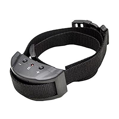 Dog Traine Anti Bark Collar for Small or Medium Dogs,Bark Control Shock E-Collar,for Puppies.Labrador,Golden Retriever,German Shepherd