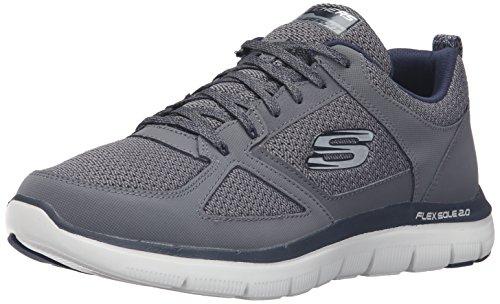 skechers-skees-flex-advantage-20-zapatillas-de-deporte-para-hombre-ccbl-46-eu