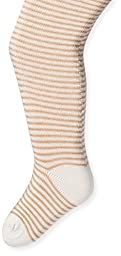 Country Kids Baby-Girls Newborn Mini Stripe Tights, Ivory, 0-12 Months