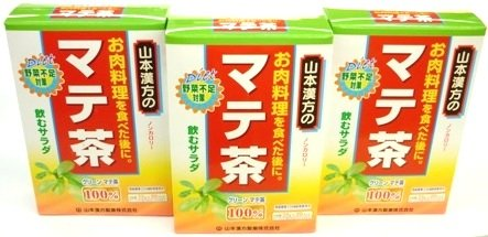 山本漢方 マテ茶100% 2.5g×20包
