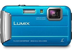 Panasonic Lumix DMC-TS25 16.1 MP Tough Digital Camera with 8x Intelligent Zoom (Blue)