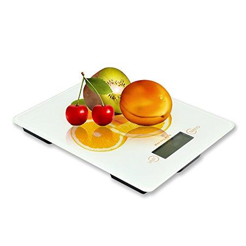 Bestek b scula de cocina con lcd pantalla m ximo 5kg 1 for Bascula cocina amazon