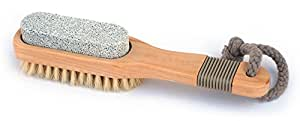 Basicare Pedicure Brush with Pumice Stone