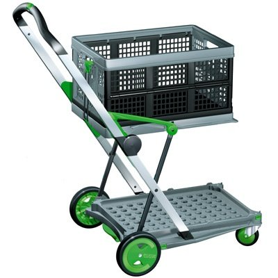 Clax Folding Trolley - Including One Basket (Clax Trolley compare prices)