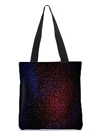 Snoogg Abstract Marron Pattern Design Digitally Printed Utility Tote Bag Handbag Made Of Poly Canvas
