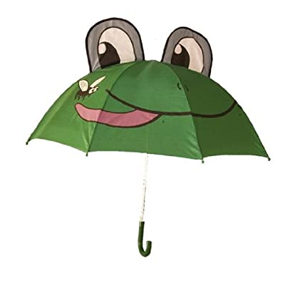 Childrens Umbrella in a Funky Frog design