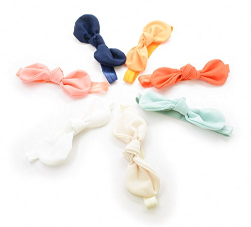 Ema Jane - Fabric Bow Knot Headbands Set - 1