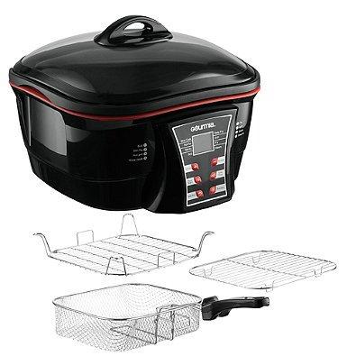 Gourmia 8-in1 Digital Multi-Function Cooker in Black (Denmark Aluminum Pressure Cooker compare prices)
