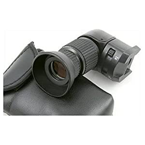 Opteka Professional 1X-2.5X Right Angle Viewfinder for Canon EOS, Nikon, Olympus, Sony, & Pentax Digital SLR Cameras