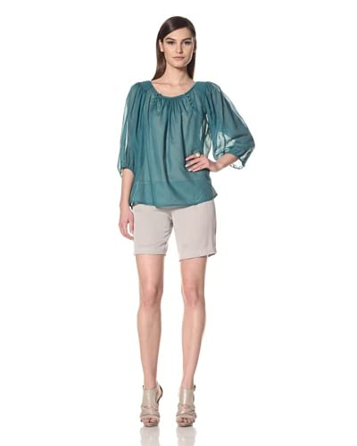French Connection Women's Caddy Stripe Top  - Wallflower