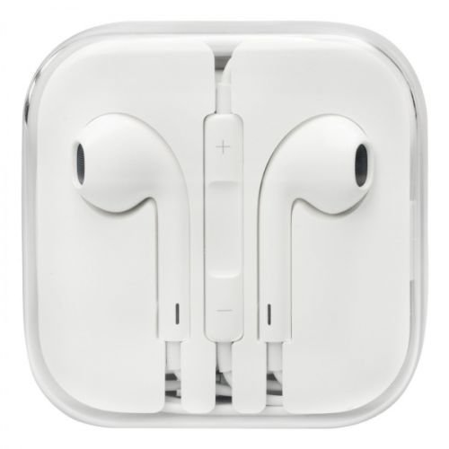 Earphones EarPods Handsfree Headphones for Apple iPhone 4/4s/5/5s/6/6+ - White