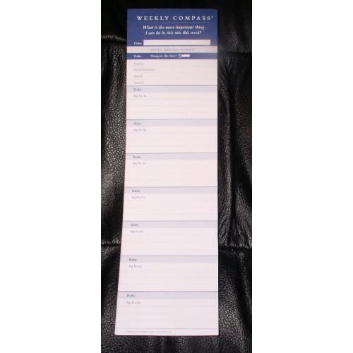 "Amazon.com: Franklin Covey Weekly Compass Refill - 10.5"" x 3"""