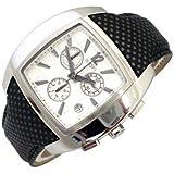 Joop Herren-Armbanduhr XL Icon Chronograph Quarz Leder JP100511F01
