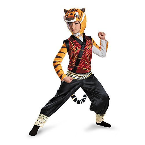 Disguise Tigress Deluxe Costume, Small (4-6x)