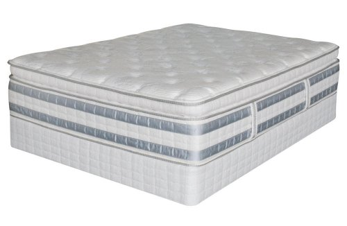 Cal King Serta Perfect Day Iseries Ceremony Super Pillow Top Mattress Set front-919822