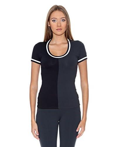Naffta Camiseta Tenis / Padel Negro / Gris