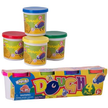 Magic Art Dough 4 Pack