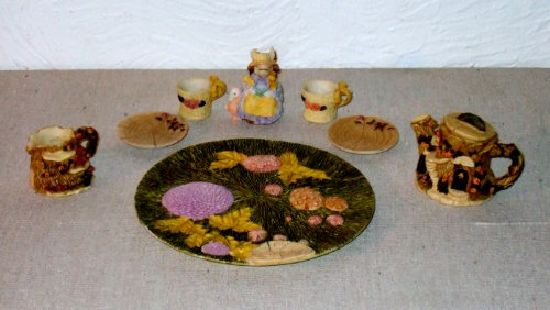Miniature Rabbit Tea Set By Popular Imports