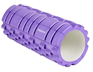 ProSource Discounts Ultra Deluxe Revolutionary Sports Medicine Roller, Purple