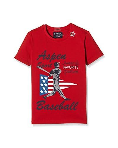 Aspen Polo Club Camiseta Manga Corta Gris