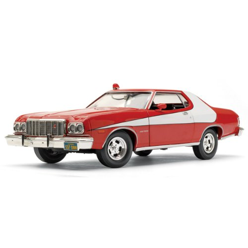 "Buy Low Price ERTL 1976 Ford Gran Torino ""Starsky & Hutch"" 1:18 Model Car Figure (B0000AMAA5)"
