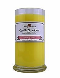 Monkey Farts Candle Sparkler w/ .925 Sterling Silver Jewelry Inside
