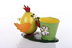 Yellow Hen With Pot Home decor by Wonderland : Plant Container, Gift Items, Pots