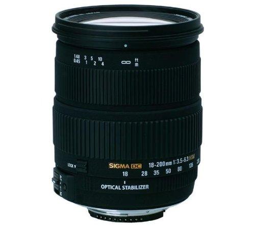 Sigma DC 3,5-6,3/18-200 OS HSM for Nikon