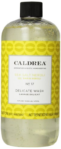 Caldrea Delicate Wash, Sea Salt Neroli, 16 Ounce