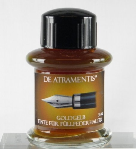 de-atramentis-handmade-ink-gold-yellow-by-de-atramentis