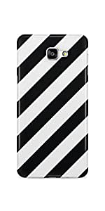 Casenation Zebra Cross Samsung Galaxy A9 Matte Case