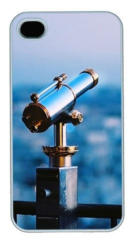 Astronomical Telescope Polycarbonate Hard Case Cover For Iphone 4/4S ¨C White
