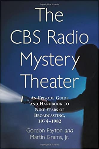 The CBS Radio Mystery Theater: An Episode Guide and Handbook to Nine Years of Broadcasting, 1974-1982 written by Gordon Payton