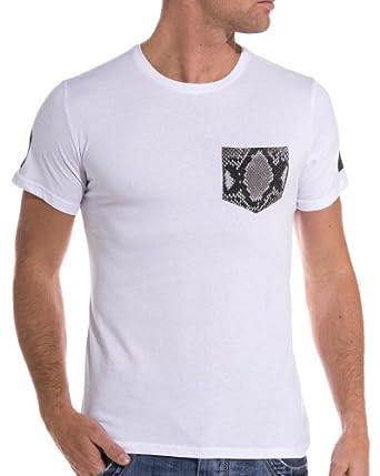 Sixth June - T shirt blanc imprimé manches courtes - couleur: Blanc - taille: XL