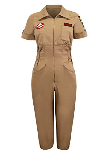 [Womens Ghostbusters Venkman Romper Medium] (Ghostbusters Womens Costume)