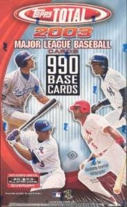 2003 Topps Total Baseball Cards Unopened Hobby Box