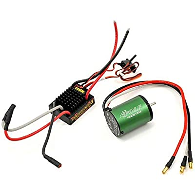 Castle Creations Sidewinder 3 Waterproof ESC with Motor (NC1406-5700KV), Scale 1:10