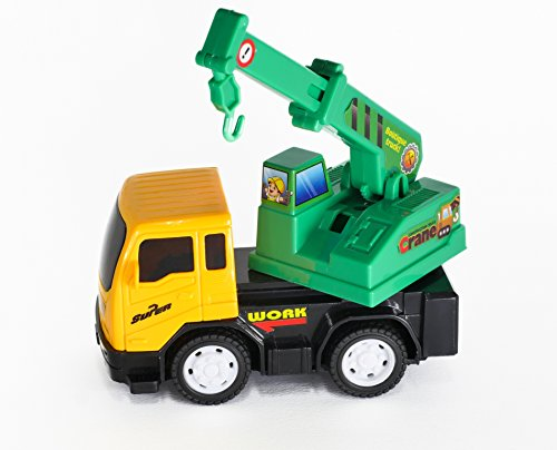 Construction Vehicle Toys For Boys : Toy u car toys for boys push and go friction powered
