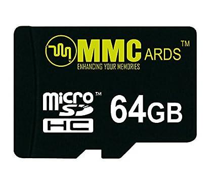 MMCards 64GB MicroSDHC Memory Card