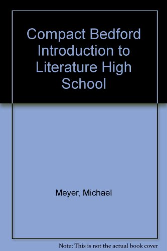 Compact Bedford Introduction to Literature High School