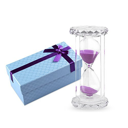 Life-C 30 mins Sandglass Hourglass Sand Clock Timer (Pink Sand) (Visual Timer For Toddler compare prices)