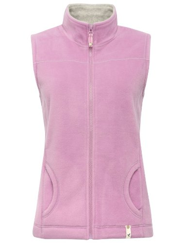 M&Co Womens Ladies Sleeveless Winter Warm Cosy Fleece Body Warmer Gilet Jacket Lilac 8
