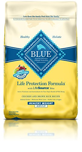 Blue Buffalo BLUE Adult Dog Healthy Weight Chicken & Brown Rice 30 lb