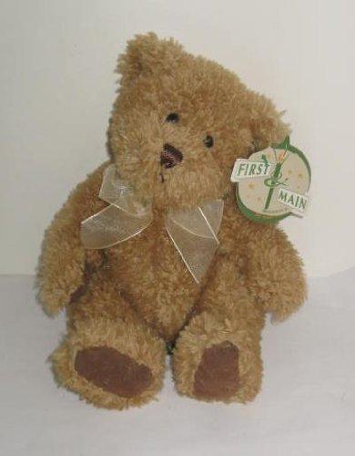 Scruffy Hand Crafted First & Main Teddy Bear