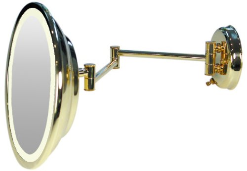 Wall Mounted Hardwired Lighted Makeup Mirror