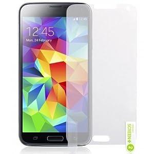 Samsung Galaxy S5 3er Pack LCD Screen Protector Guards Mit Poliertuch von Hülle Spyrox